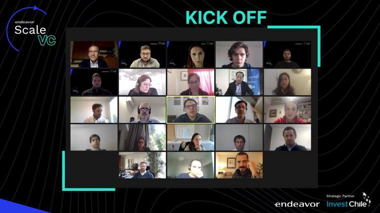 Kick Off Scale VC: Un evento virtual al estilo Endeavor